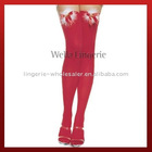 Jingle Bell Thigh High Stockings