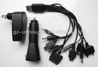 MULTI SOCKET & MULTI-PURPOSE USB MOBILE PHONE CHARGER / CAR CHARGER for mobile phones & other devices