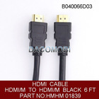 6FT(1.8m) 1080P V1.4 HDMI to HDMI Cable For HDTV DVD PS3