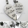 Wholesale Twilight Heart Love Necklace Gift Mix Order Drop Shipping
