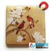 flowers and birds Magnetic Epoxy Gift sales promotion products fridge magnet