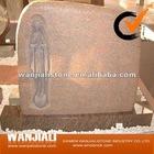 natural granite tombstone