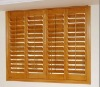 wood folding shutters