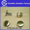 9m brush plating double head fasteners
