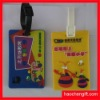 Promotion school silicone name card tag