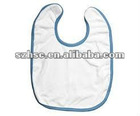 new design pure cotton baby feeding bibs waterproof baby bibs