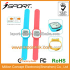 touch-control downlosd USB multifunction calorie pedometer slap watch