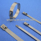 304/316 Natural Shine Ball lock Stainless Steel Cable Tie