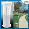 Outdoor energy saving 18watts UV 360 degree solar powered garden lamp mosquito lamp killer