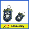 high qualityh 3D embossed PVC keychain