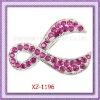 XZ-1196 Pink Ribbon Brooch
