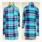 Girls' Flannel check shirt