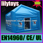 (LILYTOYS ! )bule Inflatable medical tent for sale 17JO