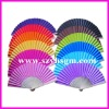 Large supply cheap colorful paper fan personalized