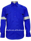 high quality cotton flame resistant shirt