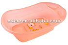 Mothercare baby bath tub with stand in pink great condition