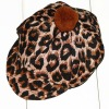 fashionable Panther print dog hat for puppy