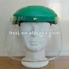 CE standard PC/PVC plastic face protection visor