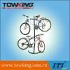 Gravity bike rack