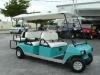 Gas Powered Club Car 6 Passenger Golf Cart