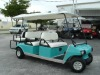 Gas Powered Club Car 6 Passenger Golf Cart