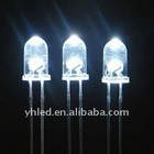 5mm Round LED lamp,white color