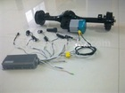 dc motors with transaxle