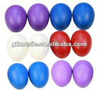 Plastic egg shakers