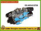 Top stronglion 4 way valve with sensor for mercedes benz truck OE#A0034315706