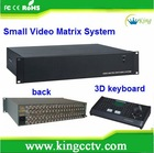 High Density Design Matrix System 16 Inputs 2 Outputs Video Matrix HK-EV1602