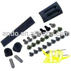 Replacement Screws Set (Black) For NDSL
