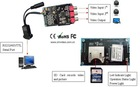 ZDS-PCB-02 CCTV Camera System DVR Card