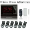 Hospital Clinic 99 Zones LED Display Wireless Service Emergency Response Nurse Call Calling Paging System AT-ECS-H