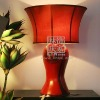 L110-80.10 Rare Cheongsam Chinese Style Table Lamp