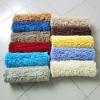 soft colorful microfiber ati-slip chenille tufting carpet