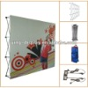 8FT aluminum fabric pop up display with dye-sub printing