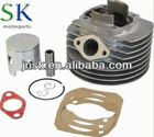 aluminum ceramic performance racing cylinder kit piaggio vespa spare parts aluminum and iron water cooling