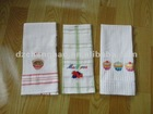 100% cotton embroidery kitchen towel
