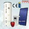 Separated solar heating system for home