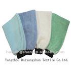 2012 New Premium Microfiber Cleaning Coral Bath body scrub Glove