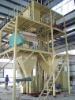 Animal feed machine for making concentrated feed