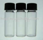Sample vials laboratory glassware