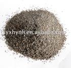 Sandblasting material of brown fused alumina