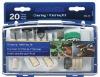 mini accessory kits / rotary tool accessory set / 20pcs cleaning and polishing kits