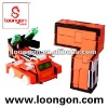 Loongon digit space tank NO.7 transforming between 7 and tank with light and sound transformer toys