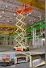 OEM service HY electric hydraulic self propelled scissor lift