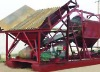Vertical dry sand sieving machine