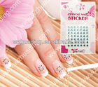 Nail sticker for nail decoraton