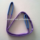 1T Flat Webbing Sling (eye eye Lifting webbing slings) Textile sling