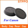 Rear Lens Cap +Camera Body Cap for Canon EOS